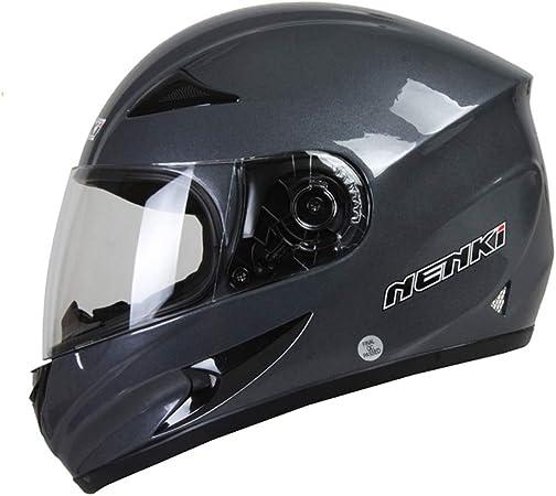 JIE KE Full Face Motorbike Helmet Motorcycle Helmet Four Seasons