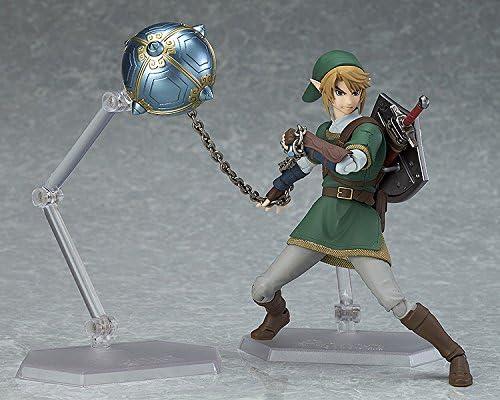 Enlace original de la leyenda de Zelda Figma Figura de acción de PVC mundos una buena sonrisa