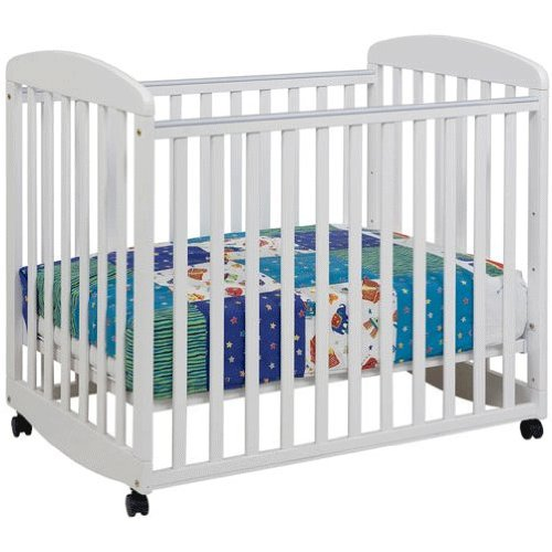 Da Vinci Systems Alpha Mini Rocking Crib (White)