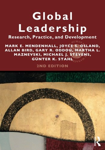 Global Leadership 2E  Research  Practice  And Development  Global Hrm