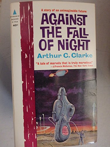 VINTAGE 1962 AGAINST THE FALL OF THE NIGHT (Arthur C Clarke Against The Fall Of Night)