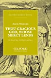 img - for Thou gracious God, whose mercy lends: Vocal score book / textbook / text book