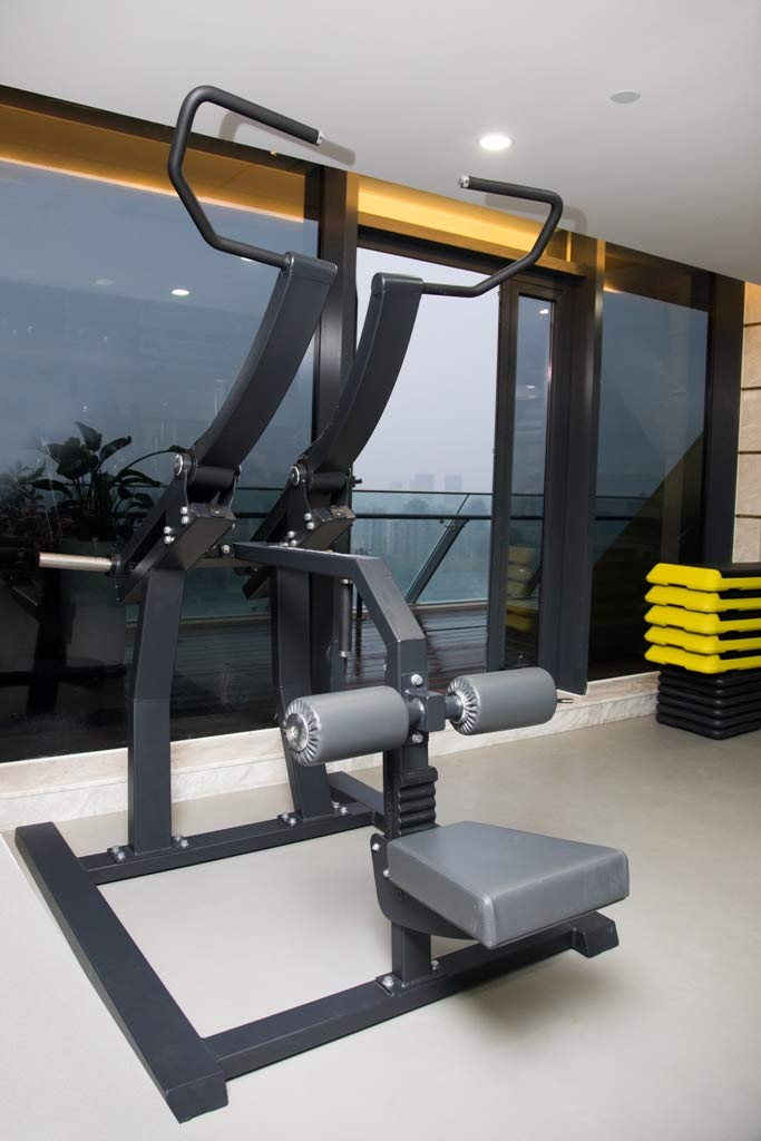 Bodykore Plate Loaded Commercial LAT Pull Down -Back Builder- Stacked Series- Commercial Fitness Equipment- GR806