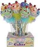 DM Merchandising Inc. Sweet Shop Tasty Cakes Sequin Pens