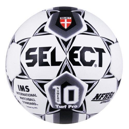 (Select Numero 10 Turf Soccer Ball (White/Black, Size 5))