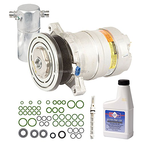 Cadillac A/c Fleetwood (OEM AC Compressor w/A/C Repair Kit For Cadillac DeVille & FleetWood - BuyAutoParts 60-83546RN New)