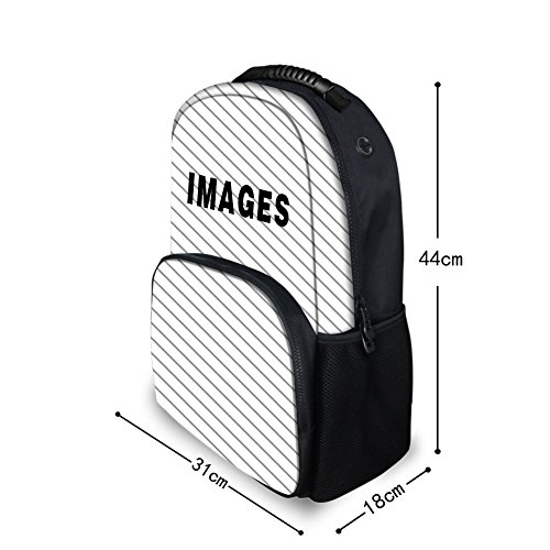 Showudesigns Cool Print Cat Sport Backpack Collge Stuent School Bags