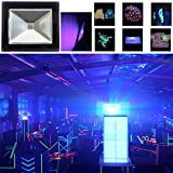 Black Light, HouLight High Power 20W Ultra Violet UV LED Flood Light (85V-265V AC) for Blacklight Party Supplies, Neon Glow, Glow in The Dark, Curing