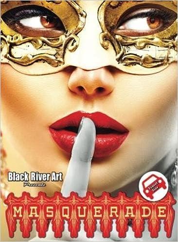 Amazon Masquerade Travel Size Grayscale Coloring Book 9781540445841 Karlon Douglas Books