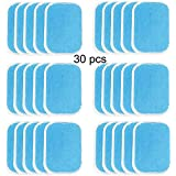 Abs Trainer Gel Sheet Abdominal Toning Belt Muscle Toner Ab Trainer Accessories 30pcs Gel Sheets for Gel Pad(2pcs/Packs, 15packs/Box)