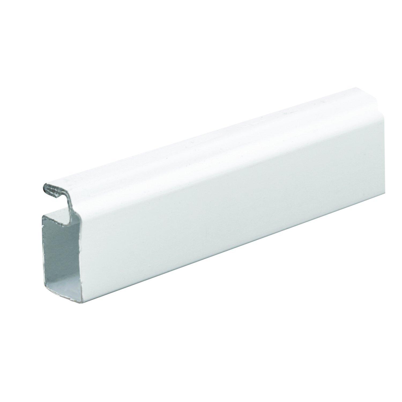 Prime-Line MP14038 Aluminum Screen Frame, 7/16 in. x 3/4 in. x 72 in., White Finish, (Box of 20)