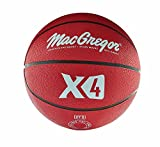 MacGregor Rubber Junior Basketball (Red)