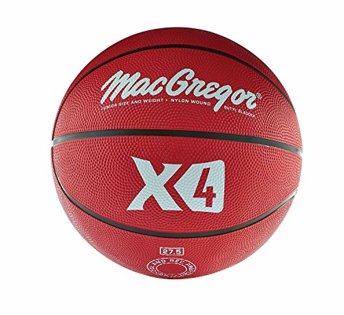 Red Kids Basketball (MacGregor Rubber Junior Basketball (Red))