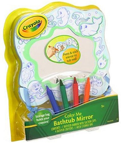 Crayola Bathtub Suction Crayons Storage