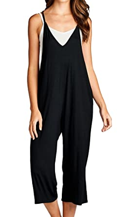 e154288db789 Amazon.com  Loving People Loose Fit Jumpsuits  Clothing