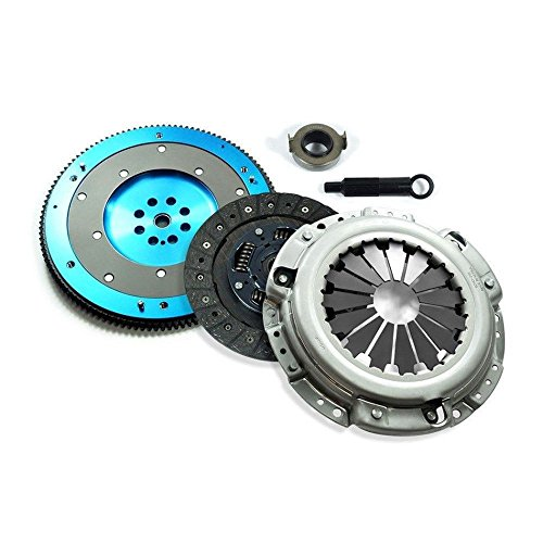 Acura CL Accord Prelude F22 F23 H22 H23 clutch kit aluminum flywheel ()