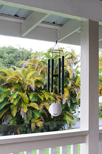 Pixpri Wind Chimes, Outdoor Garden and Home Décor, Elegant Metal Design with Soft, B Pentatonic Scale