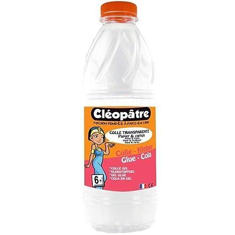 Cleopatre CT1L - Pegamento transparente especial para escuelas, 1 kg