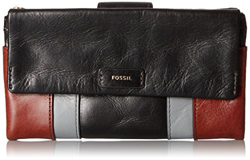 Fossil Ellis Wallet Clutch, Neutral Multi, One Size