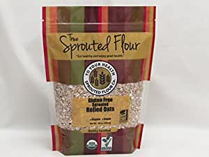 5lb. Organic, Sprouted Rolled Oats