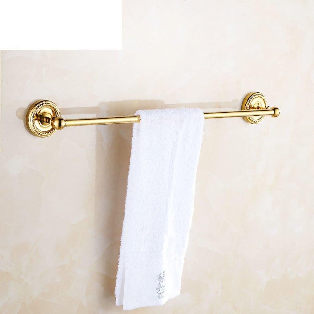 copper bathroom Towel rack/single towel hanging/Thick base of high ...