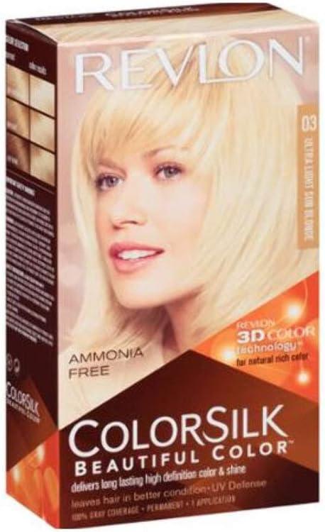 COLORSILK tinte #03-rubio ultra claro