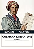 American Literature, Volume I 2nd Edition