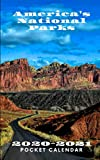 America s National Parks 2020-2021 Pocket Calendar: Capitol Reef National Park Utah - 2 Year Monthly Mini Planner Scheduler Agenda & Organizer with Notes - Perfect for On the Go