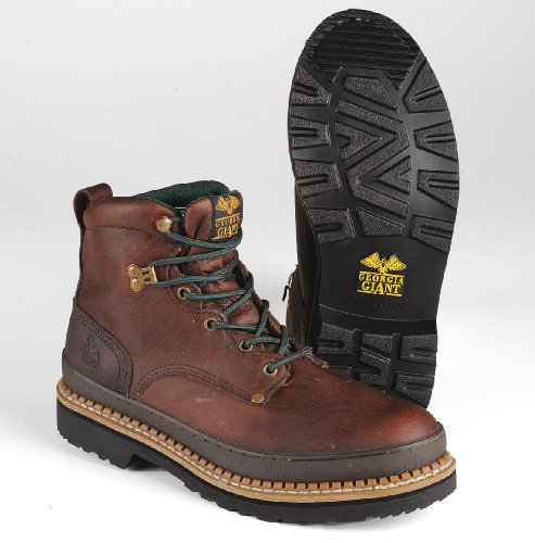 Work Boots, Stl, Mn, 11.5W, Brown, PR