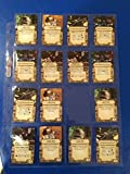 Star Wars Upgrade Card Display Pages 16 Pocket (Pack of 10) Star Wars X-Wing & Imperial Assault for Small and Mini American sized Cards