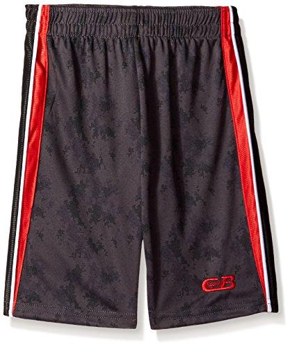 CB Sports Boys Printed Performance Athletic Short