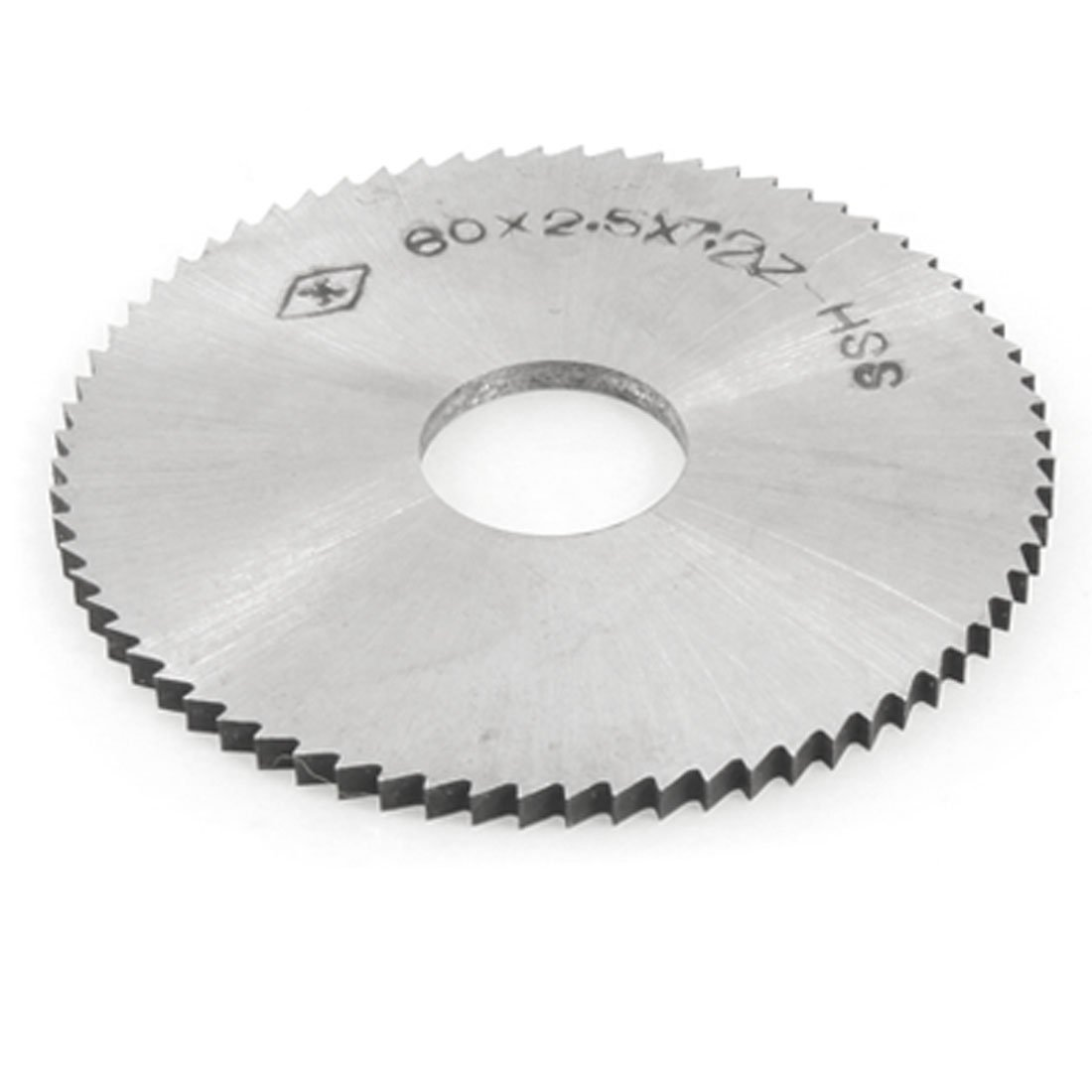 2,5 mm Espesor 60 mm OD HSS de corte longitudinal de hoja de sierra 16 mm Di/ámetro del agujero