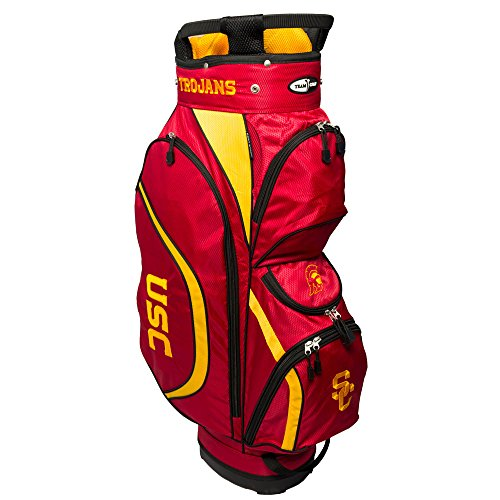 Team Golf NCAA Clubhouse Cart Bag, USC by Team Golf