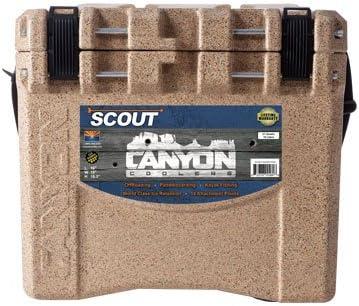 CANYON COOLERS Scout 22 Quart Adventure Cooler-Sandstone