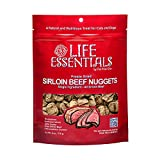 Life Essentials by Cat-Man-Doo Freeze Dried Sirloin Beef, Sirloin Beef & Cheese Nugget Dog Treats – 3 oz, 6 oz (Sirloin Beef, 6 OZ)