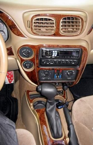 Chevrolet Chevy Trailblazer Interior Burl Wood Dash Trim Kit Set 2002 2003 2004 2005 Buy