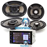 Pioneer AXT-2969BT DVD Receiver with 6.2'' Display and Bluetooth, (2) 6.5'' 2-Way Speakers and (2) 6'' x 9 '' 3-Way Speakers