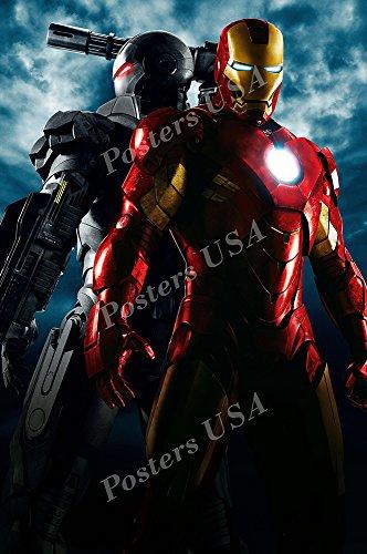 marvel iron man 2 textless movie poster