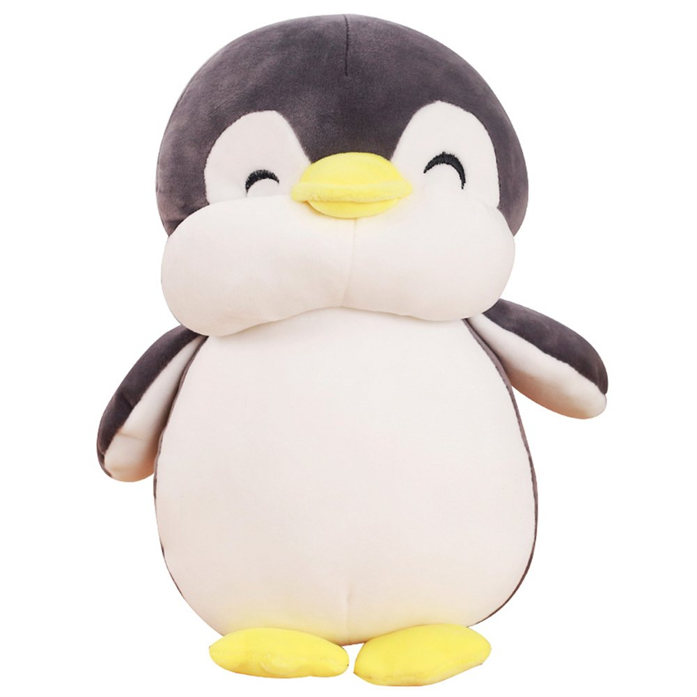 Amazon Com Vsfndb Penguin Plush Toy 12 Inch Gray Large Stuffed