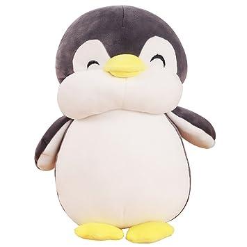 Amazon Com Vsfndb Penguin Plush Toy 12 Inch Gray Large Stuffed