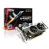MSI nVidia GeForce GT430 OC 1GB Low profile PCI-Express Video Card