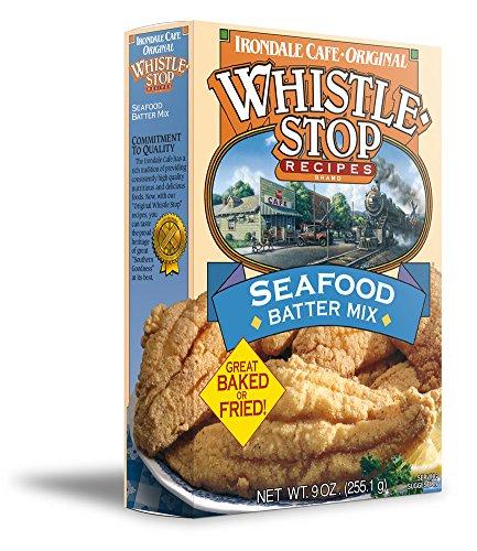 Original WhistleStop Cafe Recipes   Seafood Batter for Baking or Frying Fish   9-oz   1 Box