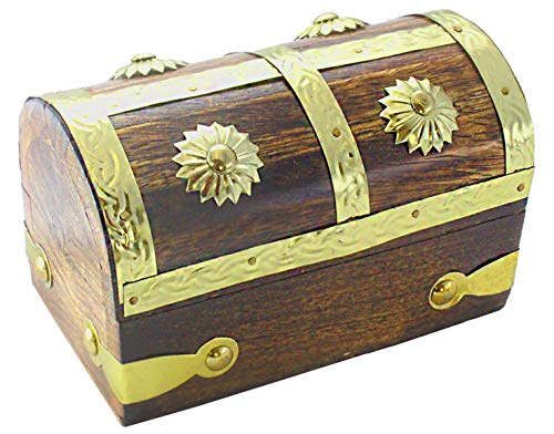 WPB Gold Pirate Treasure Chest 5.5