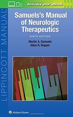 Samuels's Manual of Neurologic Therapeutics (A Manual Of Diseases Of The Nervous System)