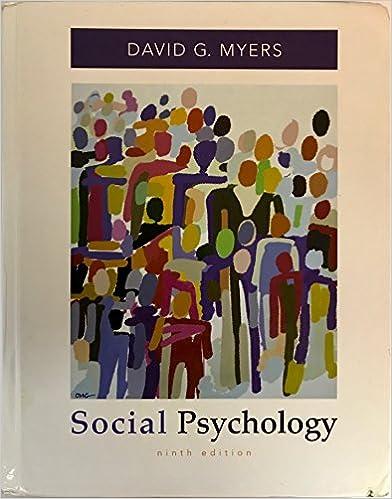 Amazon social psychology 9780073531892 david g myers books social psychology 9th edition fandeluxe Choice Image