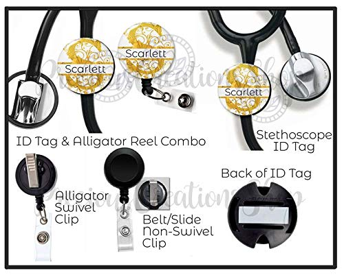 Christmas Badge Holder Grinch Badge Reel Medical Nurse Badge ID Lanyard