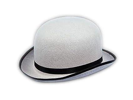 Amazon.com  HMS Deluxe Grey Derby Hat  Toys   Games c46833e75a8