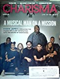 img - for Eddie James: A Musical Man on a Mission / Global Fire / Holy Spirit, Is That You? / Turning Up the Heat - (Charisma Magazine - February 2017) book / textbook / text book