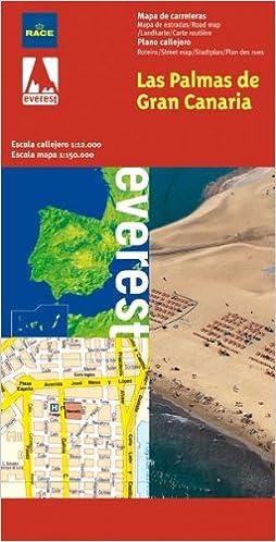 Las Palmas de Gran Canarias. Plano callejero y mapa de