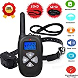 [NEW2018] Remote Dog Training Collar 1450ft Waterproof and Rechargeable Electric Shock Collar with Beep/ 100 Level Vibration/100 Level Shock(Shock Protection Technology) Fits All Size Puppies Review